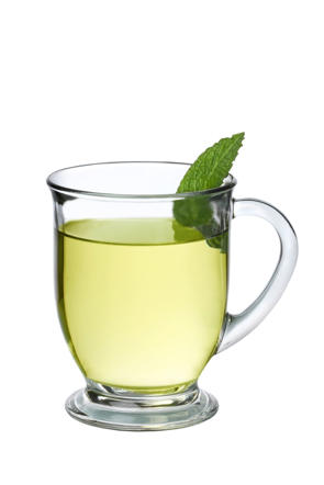 Green tea contains catechins that helps to speed up metabolism and fat burning.