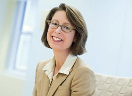 This 2013 photo provided by Fidelity Investment shows newly named CEO Abigail Johnson. Johnson, 52, is replacing her father in the top job, 84-year-old Edward Johnson announced Monday, Oct. 13, 2014. He will stay on as chairman of the board. (AP Photo/Fidelity Investments)