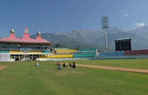 Set in the foothills of the Himalayas, Himachal Pradesh Cricket Association (HPCA) in Dharamsala hosted its first international match when India played England on January 27, 2012.
