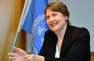 United Nations Development Programme (UNDP) Administrator Helen Clark.