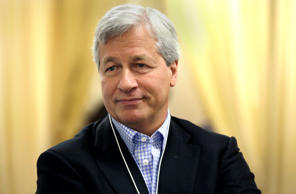 James 'Jamie' Dimon, chief executive officer of JP Morgan Chase & Co., at  the World Economic Forum (WEF) in Davos, Switzerland.
