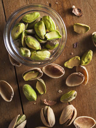 "It's no wonder this nutrient-dense nut has become a favorite among health and wellness experts. ""Pistachios are a rich source of magnesium, which helps to balance cortisol levels within the body,"" says Palinski-Wade. And if you've been stressing about your weight, this member of the cashew family can help with that, too. ""Pistachios contain only 3 calories per nut—about half the calories of most snack nuts—making them a great choice for individuals looking to lose weight."""