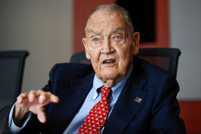 Jack Bogle, founder and retired CEO of The Vanguard Group, speaks during the Global Wealth Management Summit in New York June 17, 2014.