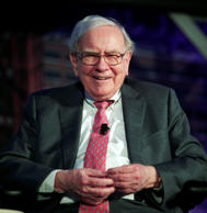 Warren Buffett, chairman and CEO of Berkshire Hathaway, and consistently ranked among the world's wealthiest people (Photo by: Lacy O'Toole/CNBC/NBCU Photo Bank via Getty Images)