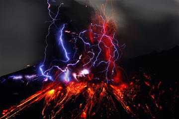 Stunning images of nature's raw power.