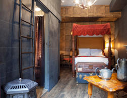"The Georgian House Hotel, London has recently opened two Harry Potter themed rooms called the ""Wizarding Chambers."""