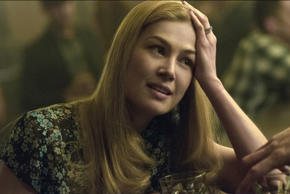Rosamund Pike in a scene from the film Gone Girl.