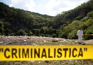 A massive hunt for the 43 Mexican students that went missing in Iguala, Mexico last month have led authorities to a new mass grave in the nearby town of Cocula.