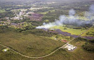 The front from the Kilauea volcano has been slogging toward the town of Pahoa for weeks.