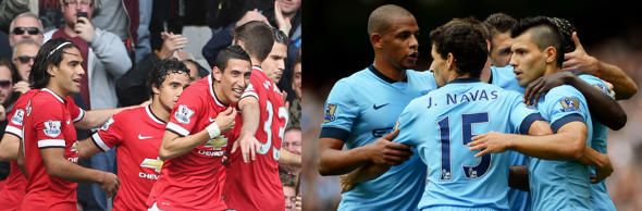 The biggest fixture this weekend takes place at the Ethiad Stadium when Manchester City play host to derby rivals Manchester United. With Wayne Rooney available to United for selection and Sergio Aguero in blistering form, this derby promises to be a cracker. Let's take a look at some vital stats of the Manchester Derby as well as the rest of the weekend's fixtures.