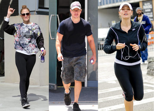 Lysbilde 1 av 13: Do you look for excuses to not go to the gym or does laziness take over the moment you think of exercising? Take a look at how celebrities stay motivated to maintain that 'wow' body through workout.