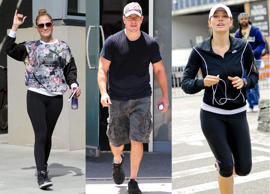 Do you look for excuses to not go to the gym or does laziness take over the moment you think of exercising? Take a look at how celebrities stay motivated to maintain that 'wow' body through workout.