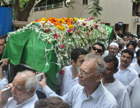 Slide 1 of 24: Jiah Khan's final journey