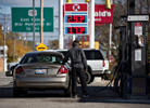<p>The average price of gasoline in the U.S. hit $3 a gallon Friday, and should soon drop below the benchmark for the first time since December 2010.</p>