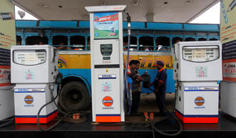 Petrol will cost Rs 64.25 a litre in Delhi from tomorrow as against Rs 66.65 currently. In Mumbai, the rate will be cut by Rs 2.55 a litre to Rs 71.91. (Reuters)