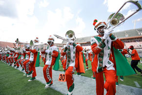File photo of the Florida A&M University band performing in Orlando, Fla.