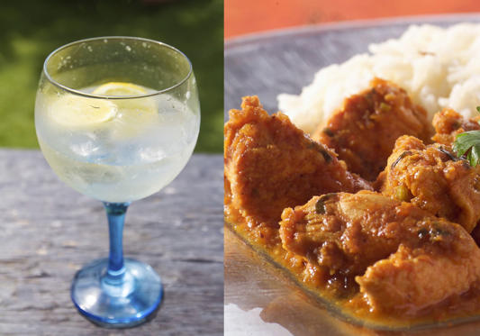 For 175 calories you can have a double gin 'n' tonic, but if you are at a party and a chug down four glasses, that is 700 calories. This makes it equal to having chicken curry and rice.