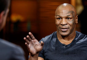 Mike Tyson appears on NBC News' 'Today' show