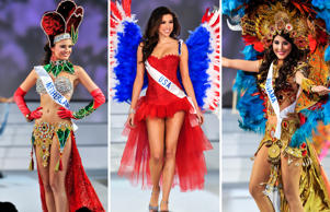 Following the 54th Miss International Beauty Pageant 2014 In Tokyo this week we take a look at the amazing and lavish contemporary national costumes the contestants wore during the show.