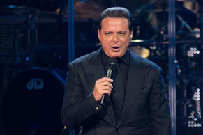 Singer-songwriter Luis Miguel performs in concert at the Frank Erwin Center on September 25, 2013 in Austin, Texas.
