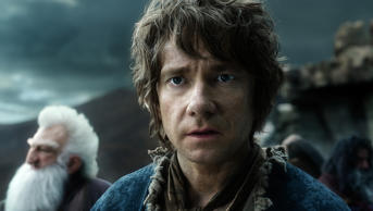 Martin Freeman in 'The Hobbit: The Battle of the Five Armies'  Warner Bros.