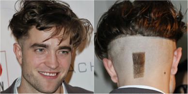 When the 'Twilight' actor Robert Pattinson came out from the 7th annual Go Go Gala in LA, his fans were rather shocked to see a new haircut that was beyond just a fashion statement. Though the actor managed to look smashing as ever going by the face value, the spectators were literally left scratching their heads in deep contemplation, while looking at the haircut from behind. Here are some interesting celebrity images with 'unusual' haircut and the ones who caught the fancy of everyone alike.