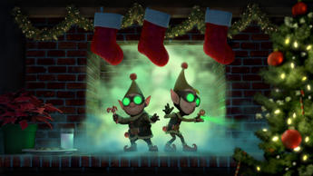 "DISNEY PREP & LANDING - ""Disney Prep & Landing,"" ABC's first television special produced by Walt Disney Animation Studios, will air SUNDAY, DECEMBER 9 (8:00-8:30 p.m. ET), on the ABC Television Network. The half-hour holiday special reveals the never-before-told tale of an elite unit of Elves known as Prep & Landing. Every Christmas Eve this high-tech organization ensures that homes around the world are properly prepared for the yearly visit from The Big Guy, their code name for Santa Claus. (Photo by Disney Channel/Disney via Getty Images) WAYNE, LANNY"