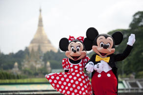Mickey Mouse around the world