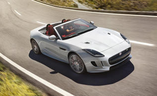 Four-wheel drive for Jaguar F-Type