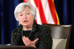 U.S. Federal Reserve Chair Janet Yellen speaks at the Federal Reserve in Washington June 18, 2014.