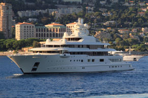 Yachts of the oligarchs