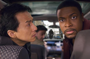 "It took six years for Jackie Chan and Chris Tucker to re-""Rush"" with Brett Ratner. (AP Photo/New Line Cinema)"