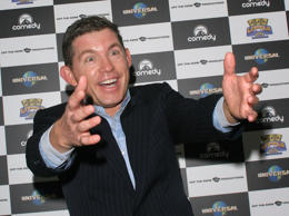 Lee Evans quits comedy: his career in pictures