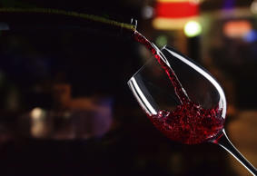 Red wine being poured  igorr1/Getty Images