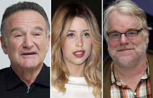 The list includes -  Hollywood star Robin Williams, fashion designer Oscar de la Renta,  Nobel laureate Gabriel Garcia Marquez and slain journalist James Foley.