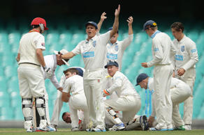 Australian batsman Phillip Hughes suffered a nasty blow to the head as he failed to successfully pull off a hook shot from pacer Sean Abbott in a Sheffield Shield game. The batsmen fell unconscious on the pitch and was immediately rushed to the hospital after a brief first-aid on the boundary line. Hughes is now in induced coma after undergoing an emergency surgery. We wish Hugo a speedy recovery and also take a look at some of the scariest moments that have left the fans wondering how safe the gentlemen's game really is