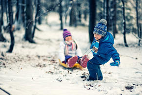 Expectations always run high for family trips: have you ever planned one that was hit by bad weather? Photograph: Alamy