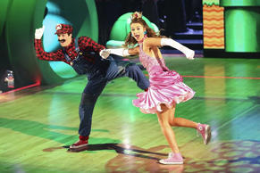 "Sadie Robertson and Mark Ballas dance in the final week of ""Dancing With the Stars"""