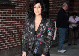 Cher: 'Late Show with David Letterman', New York, America - 24 Sep 2013