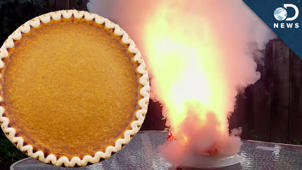The Exploding Pie Experiment!