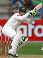 In this Dec. 14, 2012 file photo, Australia's Phil Hughes ducks under a bouncer from Sri Lanka's Shaminda Eranga on the first day of their cricket test match at Bellerive Oval in Hobart.