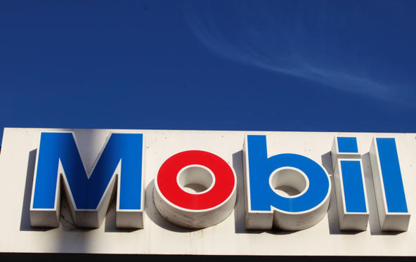 The Mobil logo has a meaning primarily in its colors. The red represents strength and the blue represents faithfulness and security that the company provides.