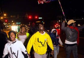 Ferguson on edge ahead of grand jury decision
