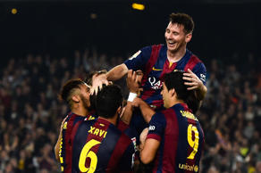 Barcelona's Lionel Messi finally surpassed Telmo Zarra's 251 goals with a hat-trick against Sevilla, after failing to score in the last three La Liga matches. The 27-year-old managed this remarkable feat of 253 goals was achieved in only 250 starts for Barcelona. Click through for more records by Messi.