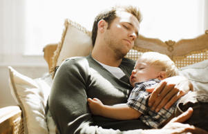 Think fatherhood means love at first sight? Not always.