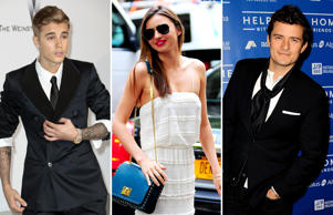 From Justin Bieber and Orlando Bloom's fight over Miranda Kerr to Kim Kardashian's Paper magazine cover, it's been one crazy year in the world of entertainment. Here's a look back on entertainment stories that made heads turn in 2014.