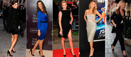 Celebrities y sus Louboutin