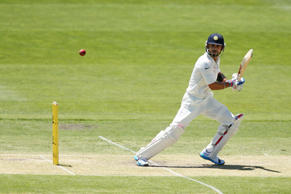Virat Kohli of India bats during day two of the tour match between CA XI and India at Gliderol Stadium on November 25, 2014 in Adelaide, Australia.