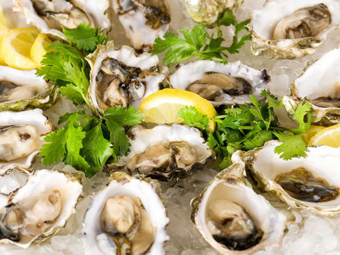 Slide 21 of 51: MASSACHUSETTS: Indulge in dozen oysters on the half-shell, harvested fresh on the shores of Cape Cod.