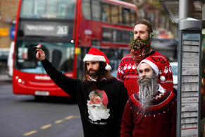 This Christmas season, say hello to a brand new festive fashion trend – Christmas beards.